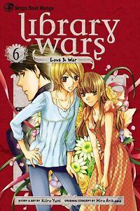 Library Wars: Love & War, Vol. 6 by Kiiro Yumi (Paperback, 2011) Anime, Manga