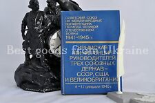 Crimean Conference of the leaders USSR USA UK 4 - 11 february 1945 1984 Book