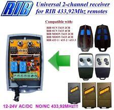 RIB SUN T433 2CH,4CH,MOON T433 2CH compatibile universale 2-canali ricevitore