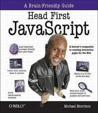 Head First JavaScript by Morrison, Michael