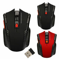 Raton Mouse inalámbrico USB 2.0 Gaming para PC y ordenador portatil Ratón