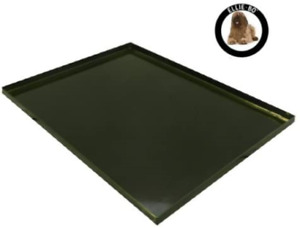 Ellie-Bo Replacement Black Metal Tray for 42 inch XL Dog Cage Crate