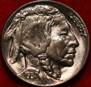 Uncirculated 1937-D Denver Mint Buffalo Nickel