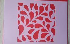 1778 Schablonen Muster Wandtattoo Wandschablone Stencil Airbrush Wanddekoration