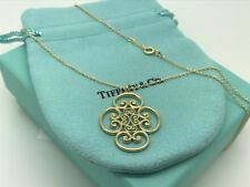 Tiffany Co 18k Yellow Gold Paloma Picasso Venezia Goldoni 16' Pendant Necklace