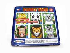 Magnetic Funny Face Jungle Animals | 24 Magnets + Tin Box | Educational Toy Toys