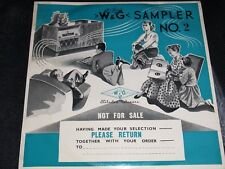 "Vintage Vinyl Collectable & Rare 1960's"" W & G Sampler NO. 2""  LP  (N/M)"