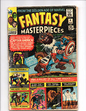 Fantasy Masterpieces #4 (Aug 1966, Marvel) Good-