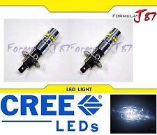CREE LED 50W H1 WHITE 5000K TWO BULB HEAD LIGHT JDM SHOW OFF ROAD LAMP REPLACE