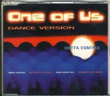 Outta Control-one of us 4 TRK CD MAXI 1996