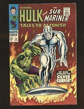 Tales To ASTONISH # 93 - Hulk vs. Silver Surfer VF+ Cond.
