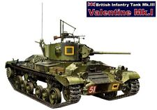 AFV CLUB BRITISH TANK VALENTINE MK I Scala 1:35 Cod.35178