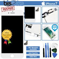 Blanco iPhone 7 Reemplazo De Pantalla Táctil Digitalizador LCD Placa Trasera Cámara + Herramientas