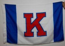 Kansas Jayhawks 3x5 Feet Banner Flag University NCAA