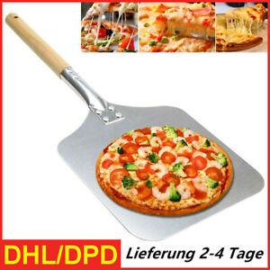Pizza Schaufel Schieber Alu 67cm Wender Heber Brot Backen Ofen Grill Holz Griff