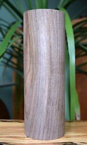 English Black Walnut Woodturning Blank 220x75mm Seasoned Figured Wood