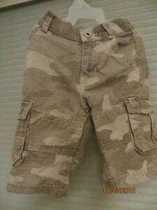 CARTERS BABY BOY CARGO PANTS SZ 6M