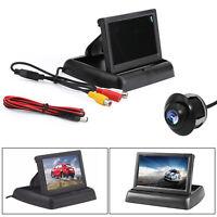 """HD Voiture Caméra Recul+4.3""""TFT LCD Moniteur de voiture Kit Système véhicule AF"""