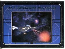 Star Trek TNG The Complete Series 1 USS Enterprise Chase Card E1