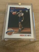 2019-20 Panini NBA Hoops Tribute Zion Williamson Rookie Card #296