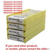 DESKAR MGGN200-JM LF6018 CNC Grooving Carbide Inserts For Stainless steel 10Pcs