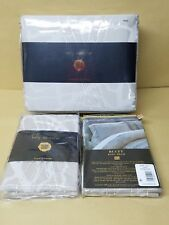 New Kelly Wearstler Bluff  King Duvet Cover And Sham Gray msrp $690