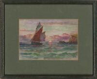 William Howard Yorke (1847-1921) - Pair of Framed Watercolours, Ship Views