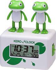 New Rhythm Clock Alarm Clock Kero Clock 2 Singing Frog Japan