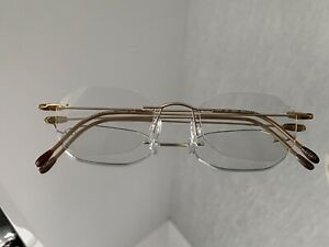SILHOUETTE RIMLESS GLASSES, 7515 TITANIUM, EXCELLENT CONDITION, GREAT QUALITY