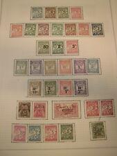 Sammlung Übersee Afrika Algerien PORTO 1926-1972 ca. 70 Marken ungebraucht (780)