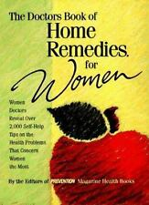 Doctors Book Home Remedies for WOMEN  Prevention Magazine hard cover Dust Jacket