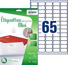 Avery Mini-etiquettes J8651-12 - Papier imprimante