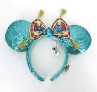 Palace Glitter 2020 Minnie Ears Green Queen Diamonds Disney Parks Headband