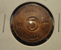CIRCULATED 1968 5 ORE SWEDISH COIN (60216)