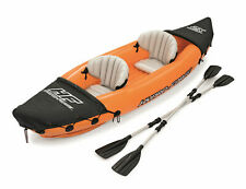 Lite-Rapid X2 Inflatable Kayak Boat Raft with 2 Aluminum Oars