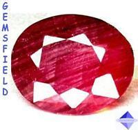 14.14cts - translucide !!! RUBIS de SRI LANKA !!! rouge mauvé - poli AAA++