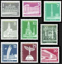 EBS West Berlin 1956 Berlin Townscapes - short set - Michel 140-148 MNH**