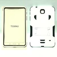 Heavy Duty Hybrid Skin Armor KickStand Case Cover for Samsung Galaxy Tab 4 8 8.0