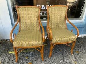 Set of 6 Rattan Wicker Dining Chairs