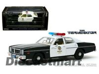 Greenlight 1:24 The Terminator 1977 Dodge Monaco Metropolitan Police 84101 Model