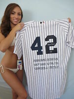 Mariano Rivera autographed signed 2009 Yankees authentic Save 500 jersey Steiner