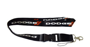 DODGE Black Lanyard ID Holder Key Strap   Free UK Delivery  