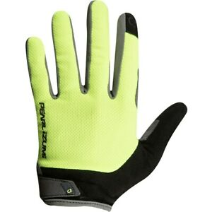 NEW! Pearl Izumi Attack Full Finger Cycling Gloves Unisex 14341902 Yellow Small