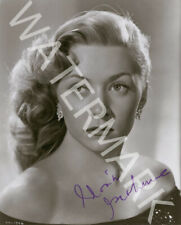 GLORIA GRAHAME SIGNED 10X8 PHOTO, GREAT STUDIO SHOT IMAGE, LOOKS AWESOME FRAMED