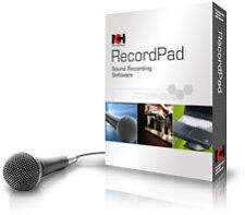 RecordPad NCH software : Record WAV MP3 Audio on your PC