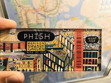 Phish Ticket Stub Magnet - Night 4 12/31/2019 Madison Square Garden Msg Nyc Nye!