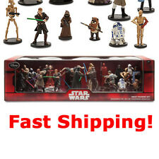 Disney Star Wars Saga Mega Figure 20 Set Figurines Force Awakens Cake Toppers