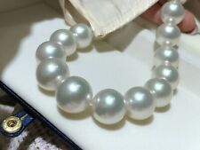 Immaculate & best of all 15.3-18.3mm Australian south sea pearl necklace