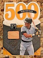Barry Bonds 2016 Pantheon Base Guilds 500 Home Run Club Bat Card, #012/199