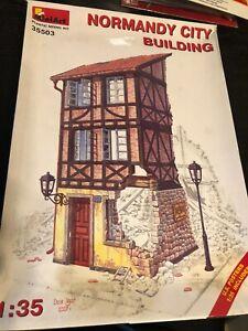 MiniArt 1/35 Normandy City Building Diorama Kit # 35503